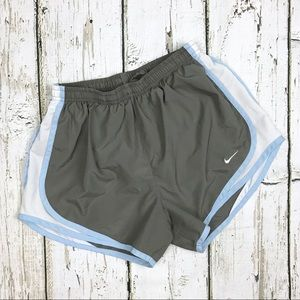 Nike Fit Dry Gray Running Shorts Sz Small 4-6